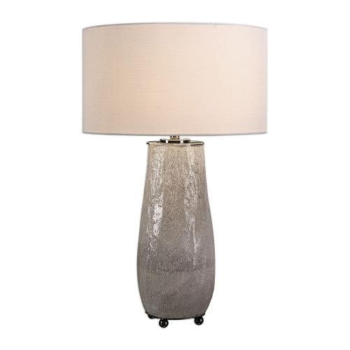 Balkana Table Lamp - Aged Gray