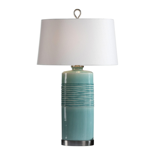 Rila Table Lamp - Distressed Teal