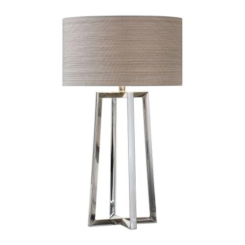 Keokee Table Lamp - Stainless Steel