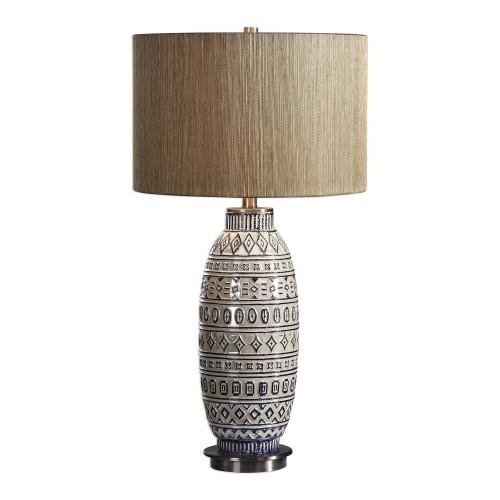 Lokni Table Lamp - Aged Ivory