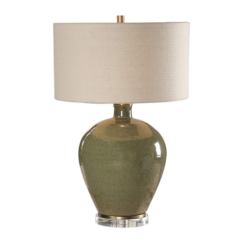Elva Table Lamp - Emerald
