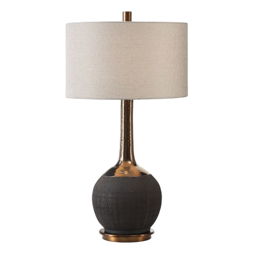 Arnav Lamp - Black Textured