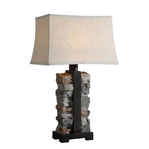Kodiak Lamp - Stacked Stone
