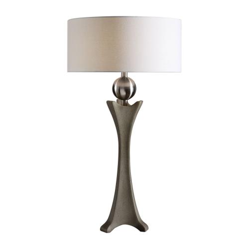 Haver Shaped Concrete Lamp