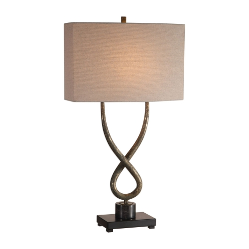 Talema Lamp - Aged Silver