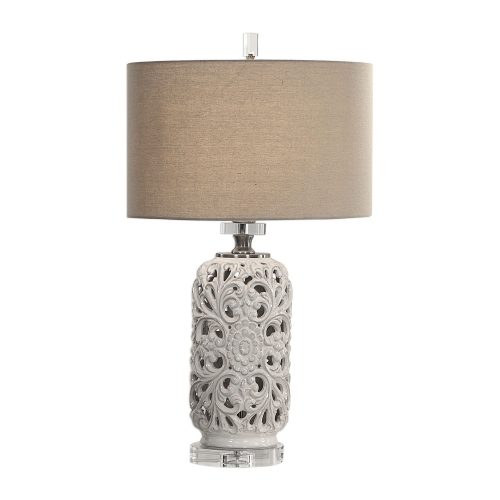 Dahlina Table Lamp - Ceramic