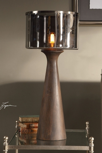 Fernando Table Lamp - Walnut