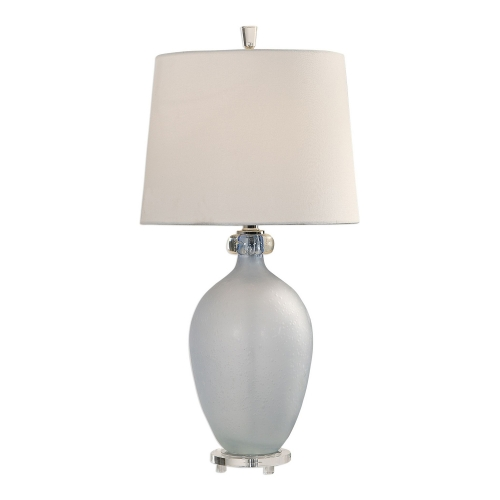 Leah Table Lamp - Frosted Glass