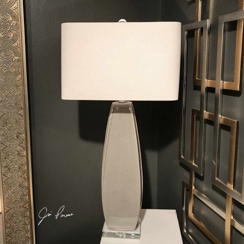 Michalla Lamp - Charcoal
