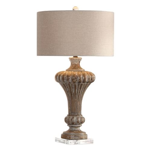 Treneece Lamp - Aged Pecan
