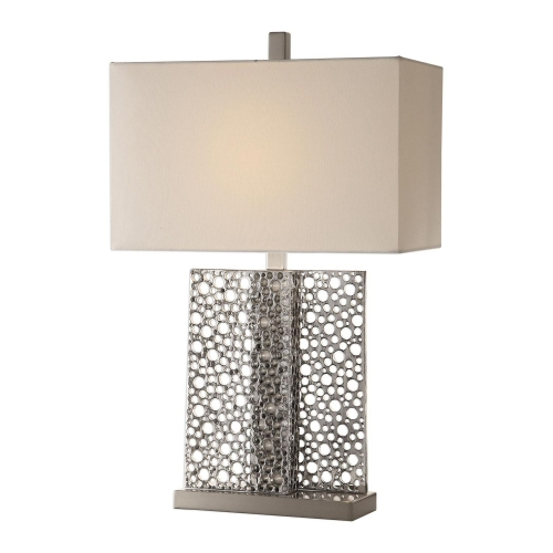 Sicero Lamp - Polished Silver