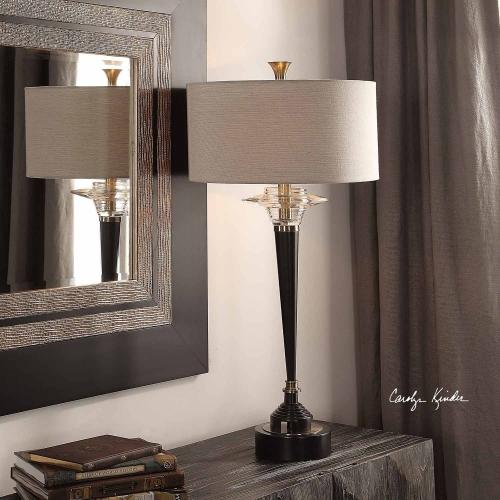 Berton Lamp - Aged Black