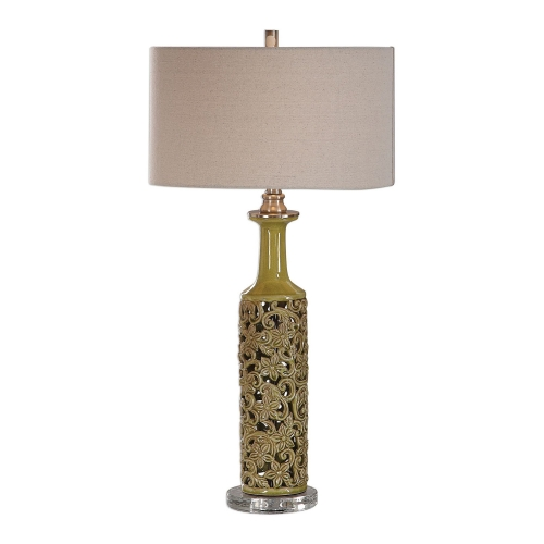 Nellie Table Lamp - Yellow-Green