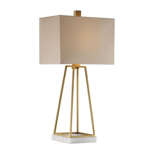 Mackean Lamp - Metallic Gold