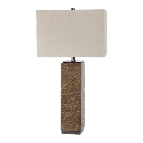 Naiser Crumpled Copper Table Lamp