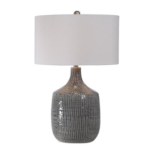 Felipe Table Lamp - Distressed Gray