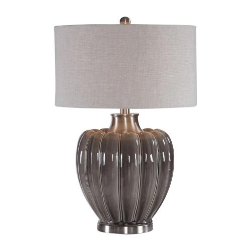 Adler Table Lamp - Smoky Gray