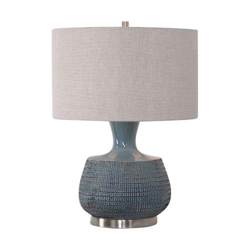 Hearst Table Lamp - Blue Glaze