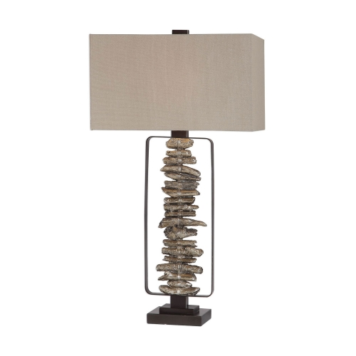 Arisa Branches Table Lamp - Golden