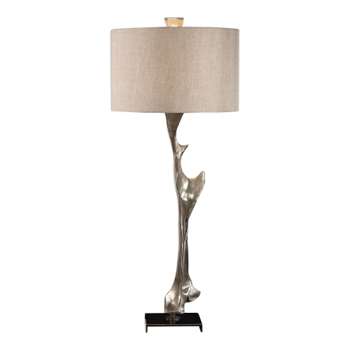 Ophion Modern Table Lamp - Silver