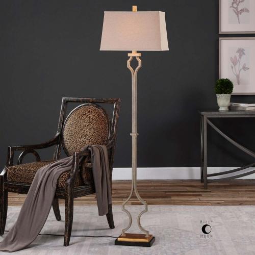 Vincent Gold Floor Lamp