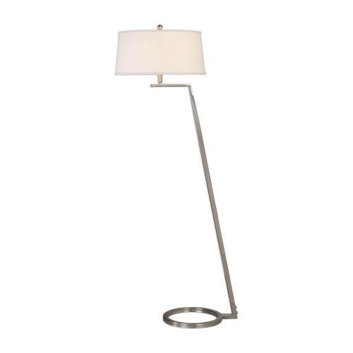 Ordino Modern Floor Lamp - Nickel