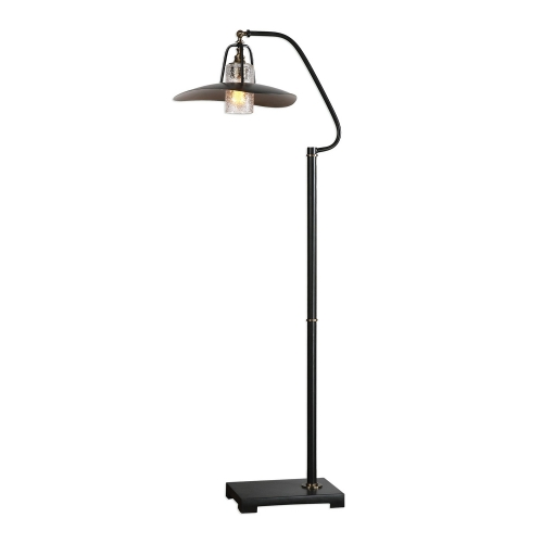 Arkutino Floor Lamp - Black Iron