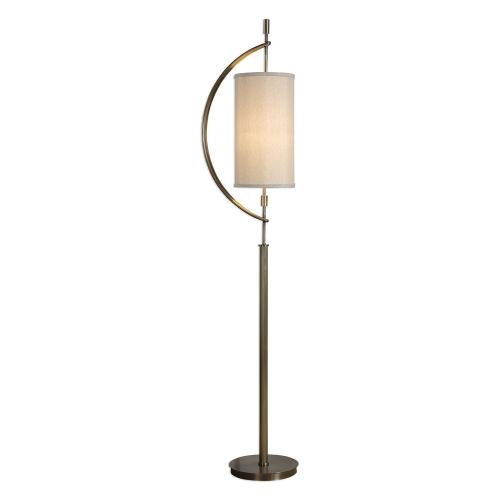Balaour Floor Lamp - Antique Brass