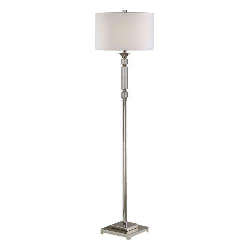 Volusia Floor Lamp - Nickel