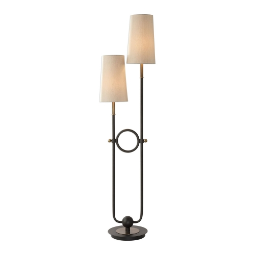 Riano 2-Arm and 2-Light Floor Lamp