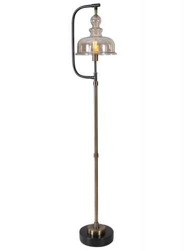 Elieser Industrial Floor Lamp