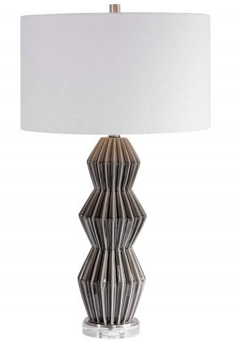 Maxime Table Lamp - Smokey Gray