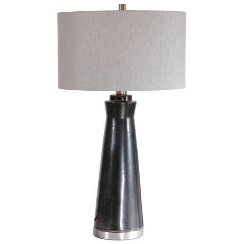 Arlan Table Lamp - Dark Charcoal