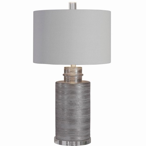 Anitra Table Lamp - Metallic Silver