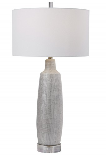 Kathleen Table Lamp - Metallic Silver