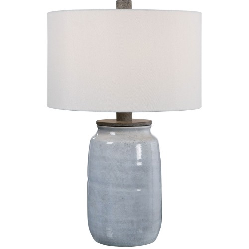 Dimitri Table Lamp - Light Blue