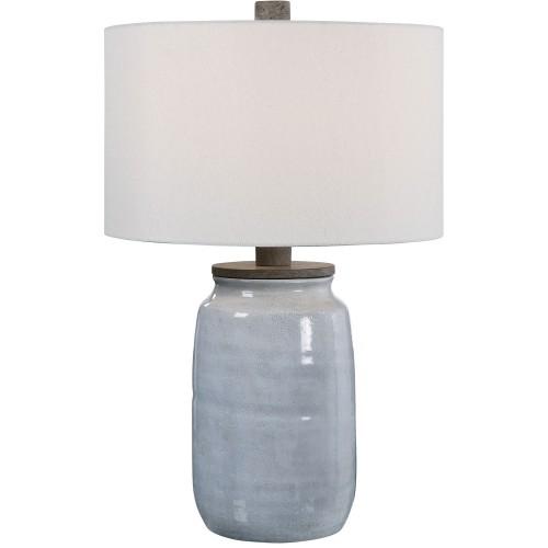 Dimitri Table Lamp - Light Blue