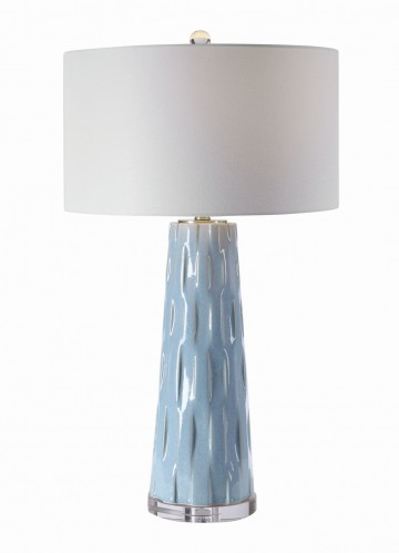 Brienne Table Lamp - Light Blue