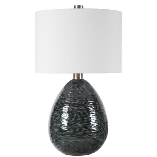 Arikara Table Lamp - Dark Teal
