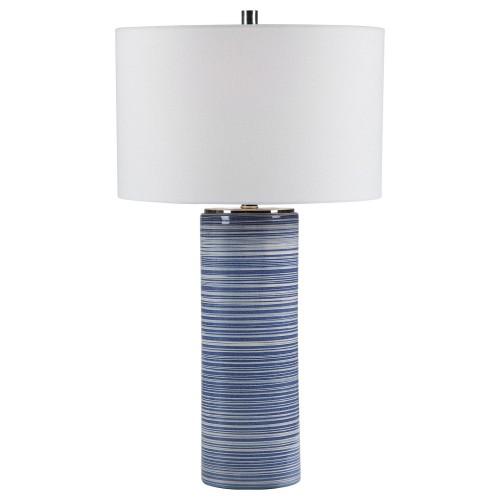 Montauk Striped Table Lamp