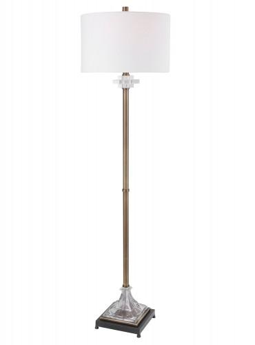 Rafferty Floor Lamp - Brass