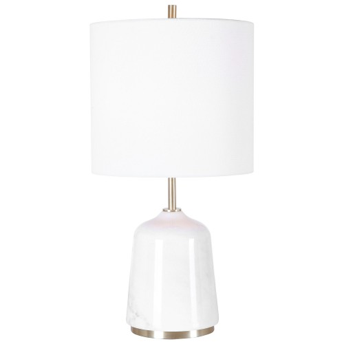 Eloise Table Lamp - White Marble