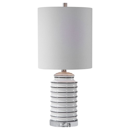 Rayas Table Lamp - White