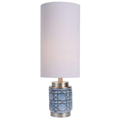 Morrisey Buffet Lamp - Blue