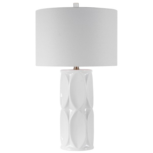 Sinclair Table Lamp - White