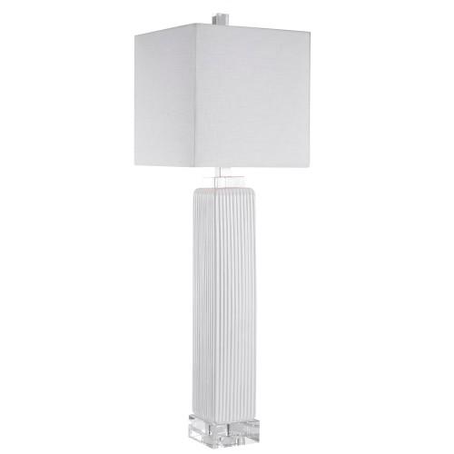 Bennett Buffet Lamp - White