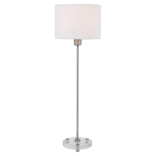Wick Buffet Lamp - Nickel