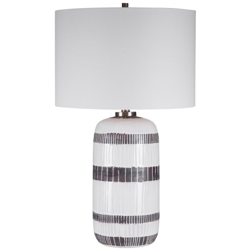 Granger Striped Table Lamp