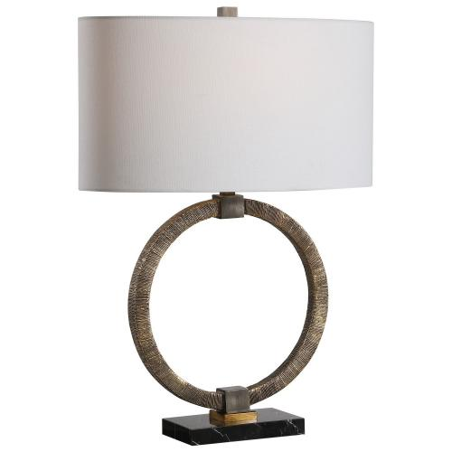 Relic Table Lamp - Aged Gold