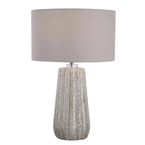 Pikes Table Lamp - Stone/Ivory